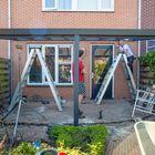Aufbau Fassaden-Veranda Kundenfoto
