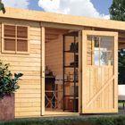 Gartenhaus Oranienburg 5 mit Überdachung Karibu