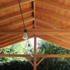 Overkapping - Lariks douglas balk timmerhout