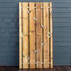 Grenen planken poortdeur