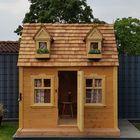 Speelhuis Red Cedar nokvorsten en dakpannen