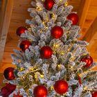 Besneeuwde kunstkerstboom 4 meter Winterberg