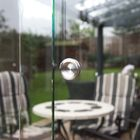 rvs handgrepen van aluminium schuifbare glaswand systeem