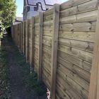 schutting blokhutprofiel geimpregneerd hout