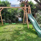 Speeltoestel met trap van Lariks Douglas plank