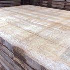Steenschotten Azobe hardhout 140 x 95 cm structuur