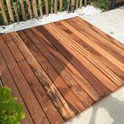 tigerhout planken terras