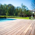 Zwembad met vlonderplank Ipe
