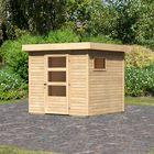 Tuinhuis Oburg 2 Karibu Woodfeeling