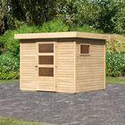 Tuinhuis Oburg 3 Karibu Onbehandeld Woodfeeling