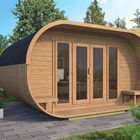 Tuinhuis camping oval tuindeco