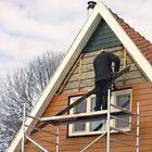 Unterlattung für Fassaden