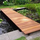 Lames de terrasse en Bankirai - Pont en bois