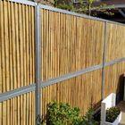 Bamboe schutting tuin