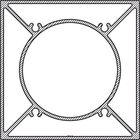 Structuur binnenkant aluminium paal