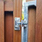 Luxe deurframe met slotkast detail verstelbare ophangoog en duimheng