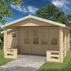 Blockhaus Coventry 590 x 570 x 259 cm
