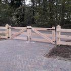 Eikenhout poort 3 planks