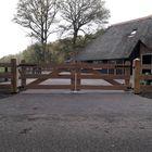 Eikenhouten poort 3 planks