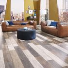 Floer Sloophout Laminaat Vloer Versleten Planken Donker 128,5 x 19,2 x 0,8 cm Sfeer