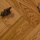Multiplank Reuze Visgraat Eiken Parket - Karamel Bruin Geolied 90 x 18 cm Object