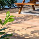 Lames de terrasse en bois dur - 21 mm - Bankirai