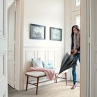Quick Step Laminaat 800 Impressive IM 1854 Zachte Eik Licht Beige 138 x 19 x 0,8 cm Sfeerfoto White Wash