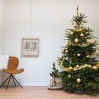 Kerstboom versieren goud