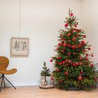 Versierpakket kerstboom rood