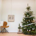 Versierpakket kerstboom zilver