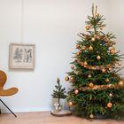 Versierpakket kerstboom brons