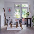 Parket Rustiek Wit Geolied Eiken vloeren 18 x 1,2 cm Witte parketvloer houten vloer impressie