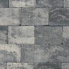abbeystones grijs zwart getrommeld