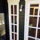 Blockhaus inglund Fenster