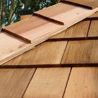 cedar houten shingles