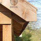 Kapschuur van Hollands Lariks hout