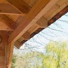 Kapschuur Hollands Lariks hout binnenkant