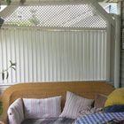 draaibare hardhout shutter scherm 180 x 90 cm
