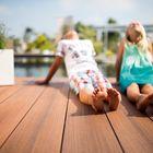 composiet terrasplank bruin grijs dolomit