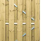 geimpregneerde deur stalen frame 180 x 100 cm