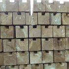 gleufpaal begin eind geimpregneerd hout 88xx88 300 cm