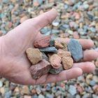 grauwacke 14 - 25 mm met hand