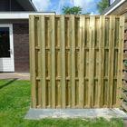 houten tuinscherm 19 lamellen 1 cm dik
