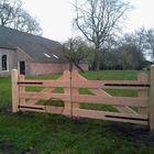 inrit poort lariks douglas hout 400 cm