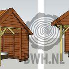 Kapschuur douglas hout hollands