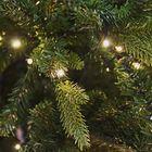 Kunstkerstboom met ingebouwde LED verlichting 300 cm Amsterdam detail