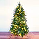 Kunstkerstboom LED 210 cm