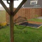 louvre tuinschermen schutting lamellen 180x180cm