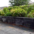 muurelementen zwart stapelblokken beton
