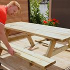 picknicktafel geimpregneerd